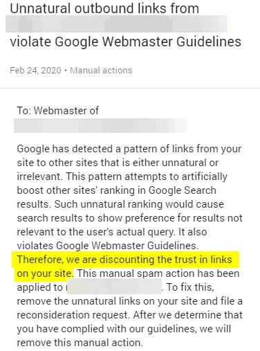 Gastbloggen gepenaliseerd door Google